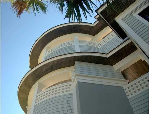 Finos detalles sobre la fachada de la propiedad.